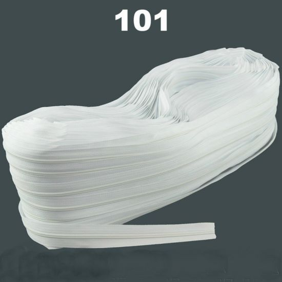 Молния рулонная №3 ( 200 метров ) Белый